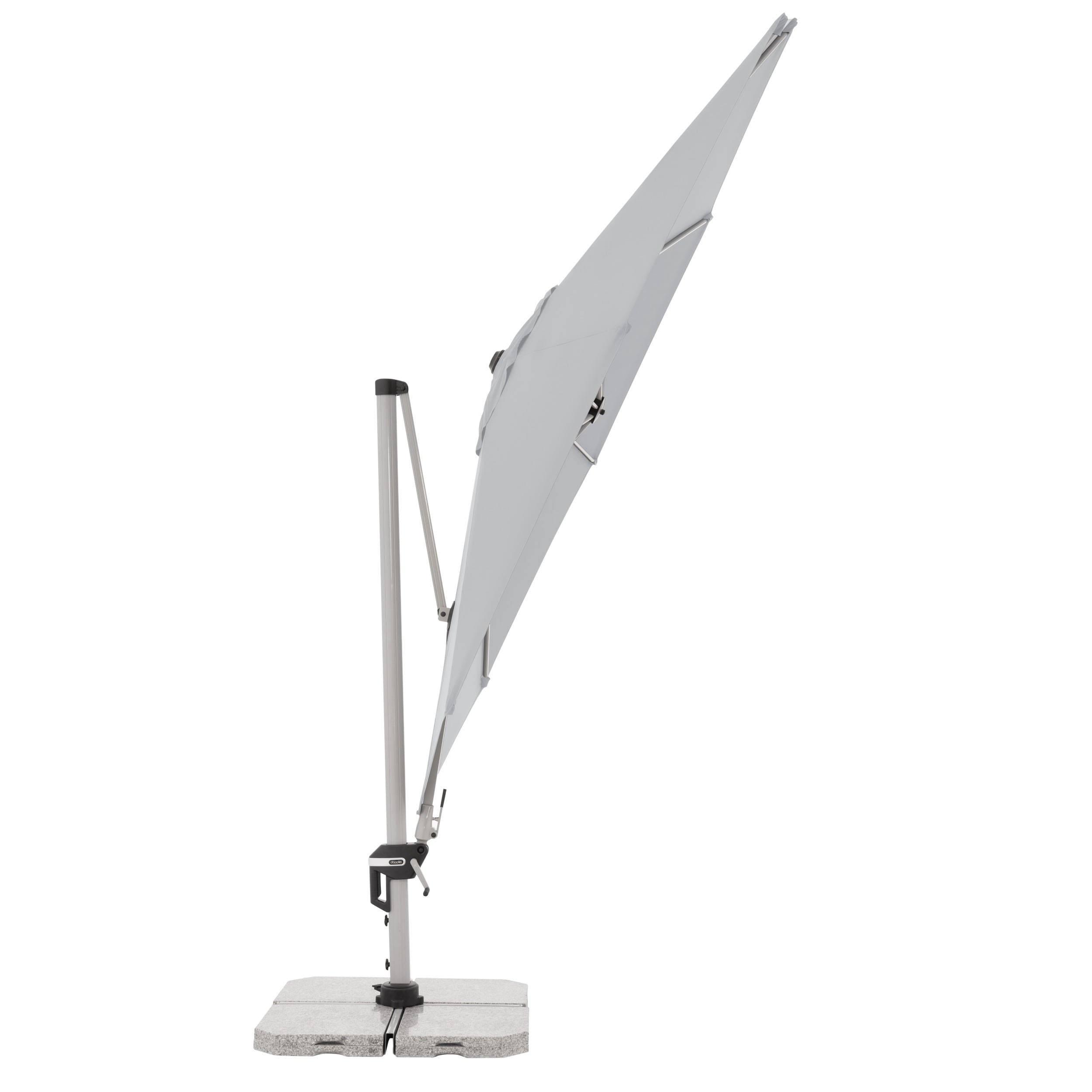 Active Pendelschirm rund mit Standkreuz ohne Beschwerungsplatten