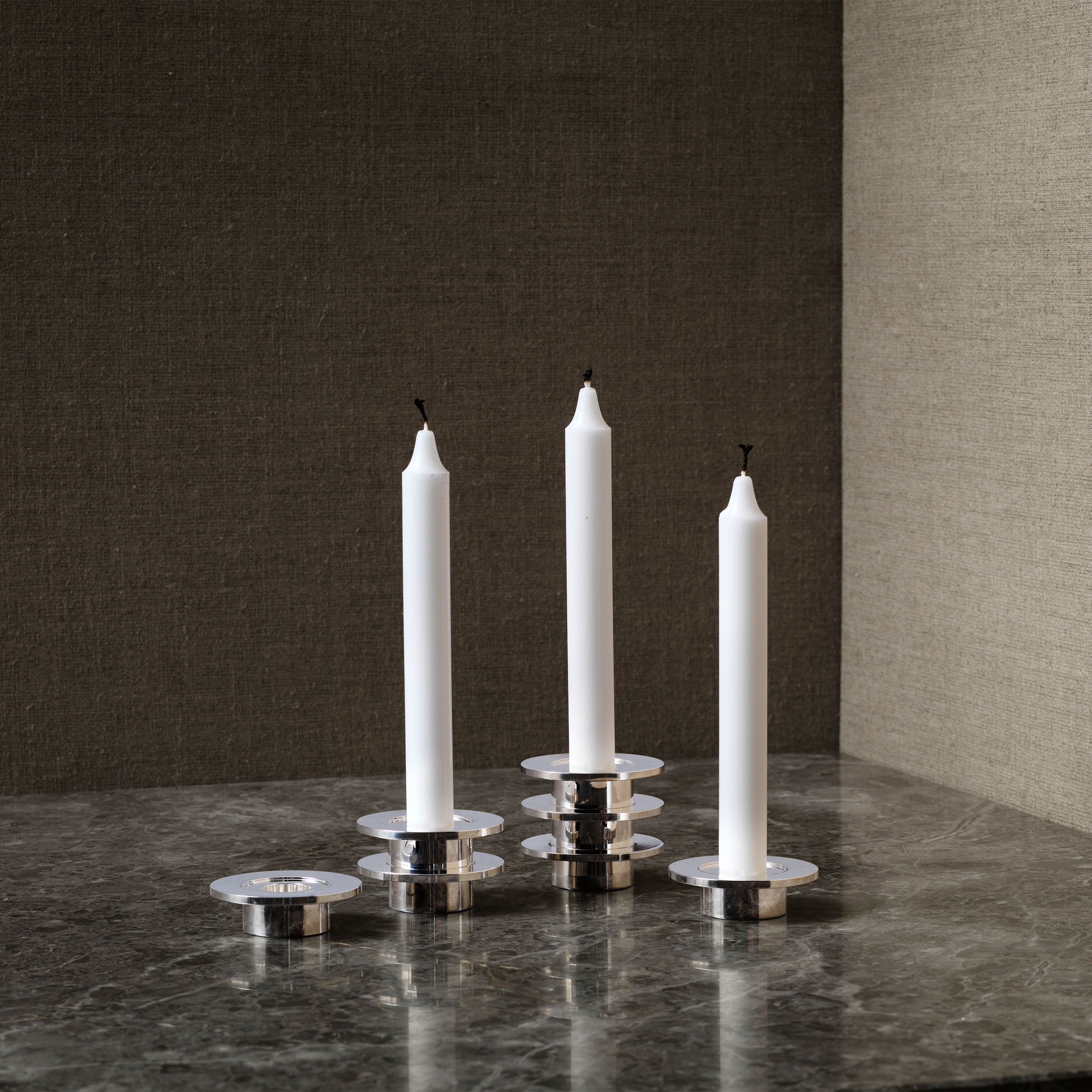 Louise Kerzenständer 3er-Set