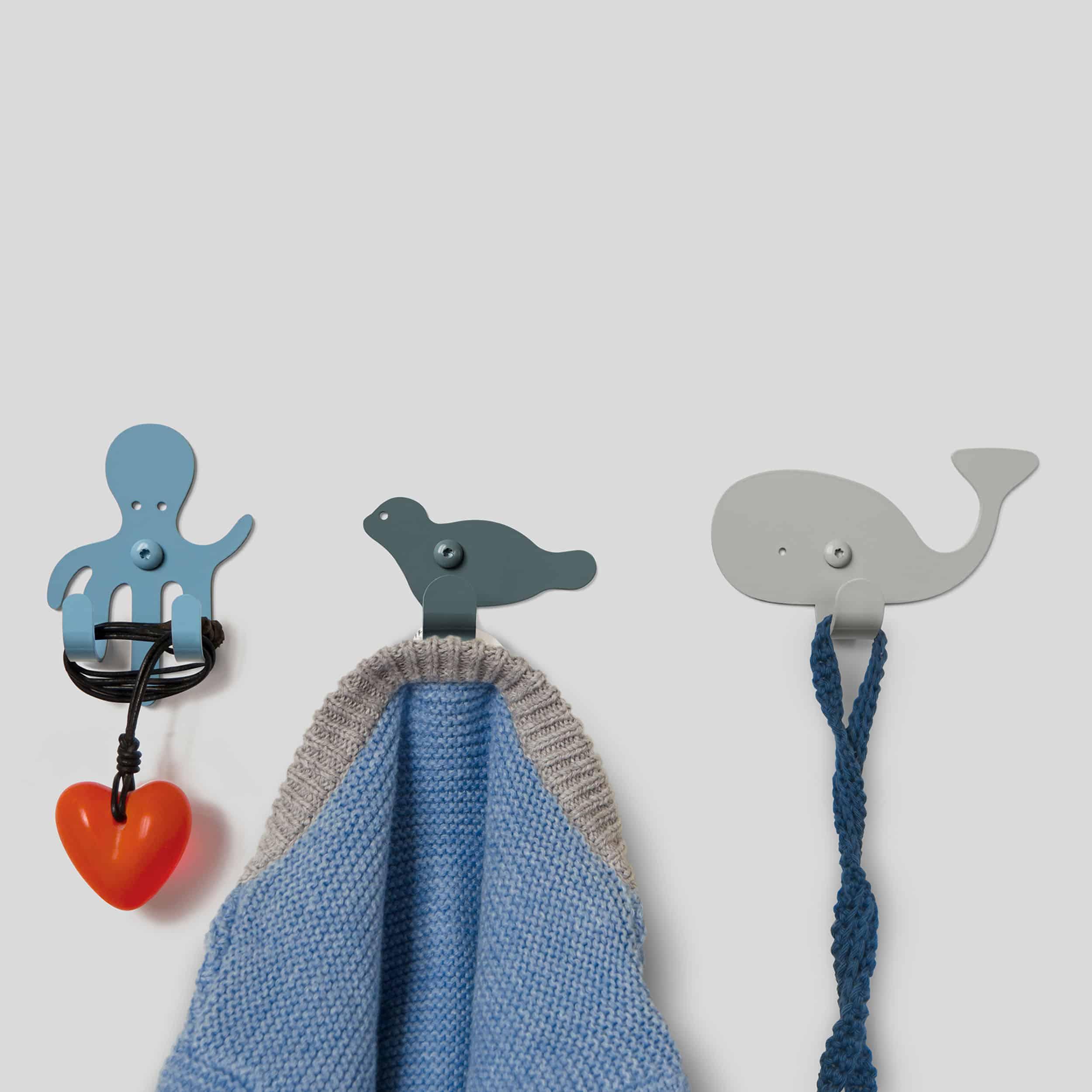 Zoo Ocean Garderobenhaken 3er-Set