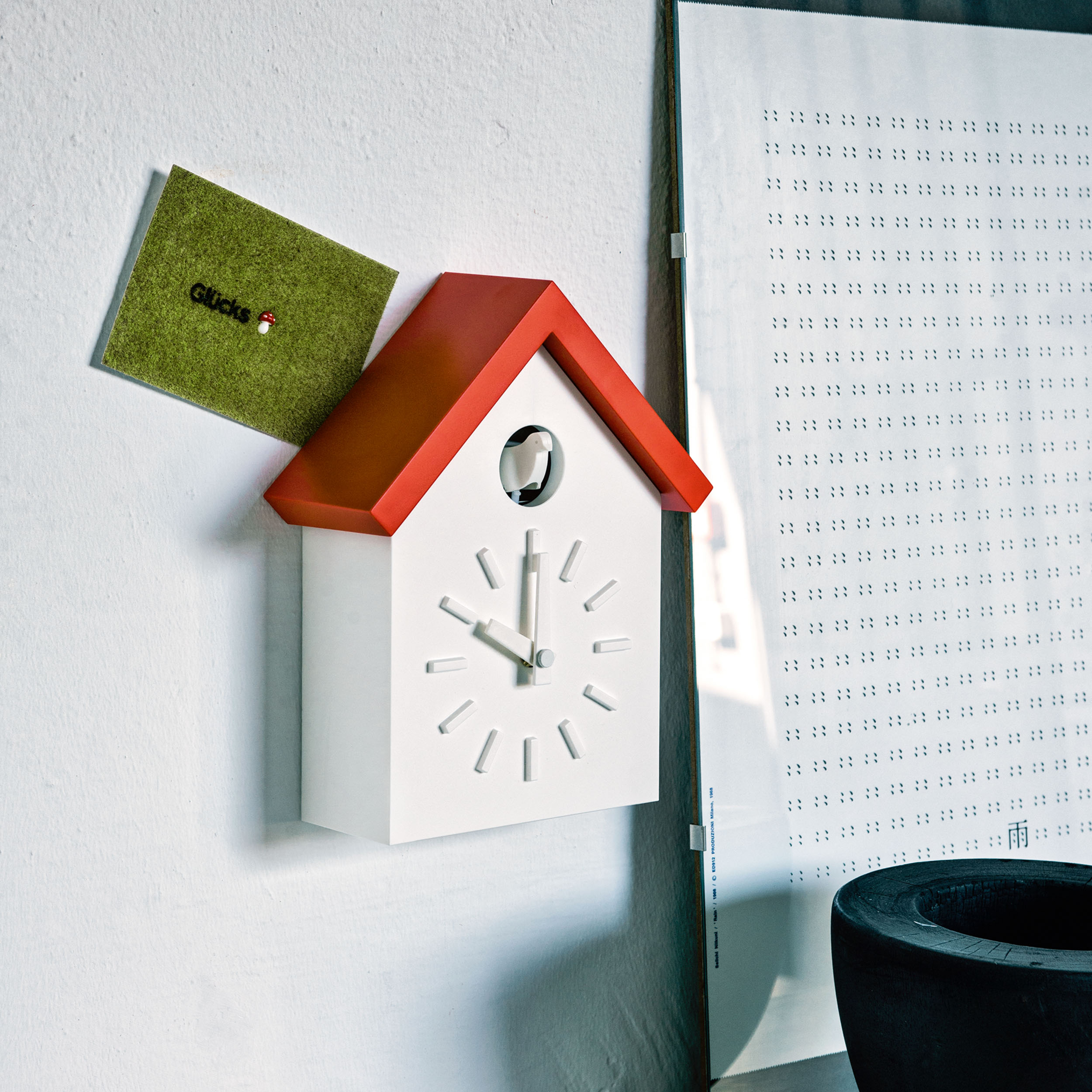 Cu-Clock Kuckucksuhr
