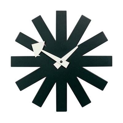 Asterisk Clock Wanduhr