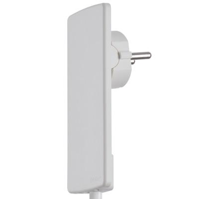 Evoline® Plug Netzstecker-Adapterverlängerung mit Schukostecker