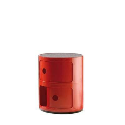 Componibili Containermöbel 2 Elemente mit Auflage