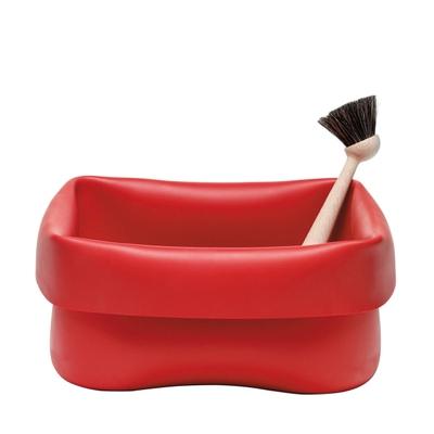 Washing-up Spülschüssel mit Spülbürste