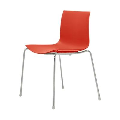 Catifa 46 Stuhl einfarbig
