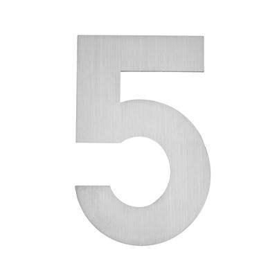 Hausnummer zum Aufkleben 5