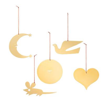 Girard Ornaments Mobile im 5er-Set