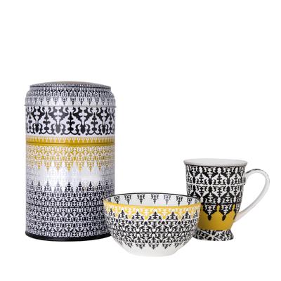 Safra Dose mit Tasse und Schale