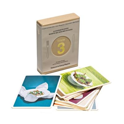 Nimm 3 Gourmetkarten 24-tlg.
