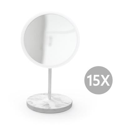 AirMirror Marble Stand Kosmetikspiegel 15-fach