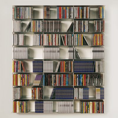 Krossing Regal für CDs – 24 Fächer