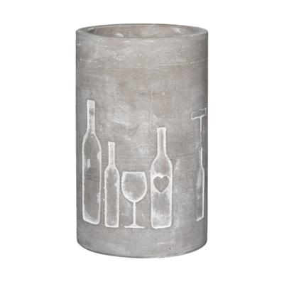 Vino Beton Flasche & Glas Flaschenkühler