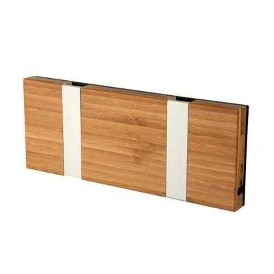 Knax 2 Bambus Garderobenleiste