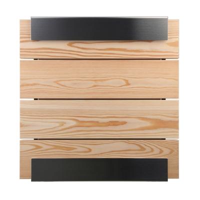 Glasnost Wood Briefkasten