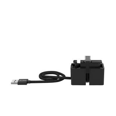 Alldock ClickIn Adapter mit Micro USB Ladekabel