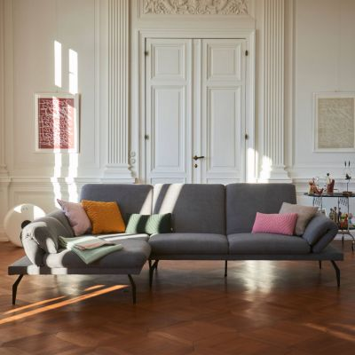 Lier Sofa mit Longchair links