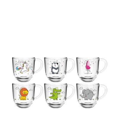 Bambini Kindertasse Trinkglas 6er-Set