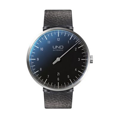 Uno Automatik Einzeiger-Uhr Armbanduhr