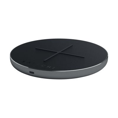 Satechi Aluminum Qi Charger PD Ladestation