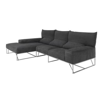 Trabia 2-Sitzer Sofa mit Loungchair links