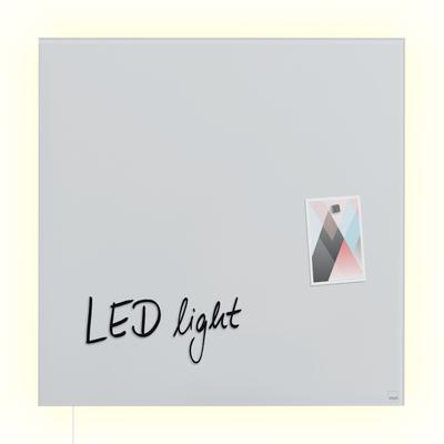 artverum® LED Glas-Magnetboard