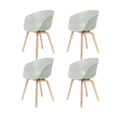 About a Chair AAC22 Stuhl lackiert 4er-Set