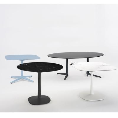 Multiplo Keramik Tisch eckig mit Kreuzfuß