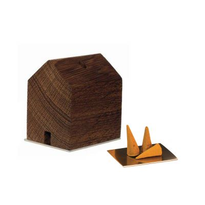 Rauchhaus Holzfigur