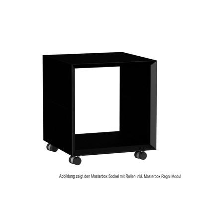 Masterbox Sockel mit Rollen