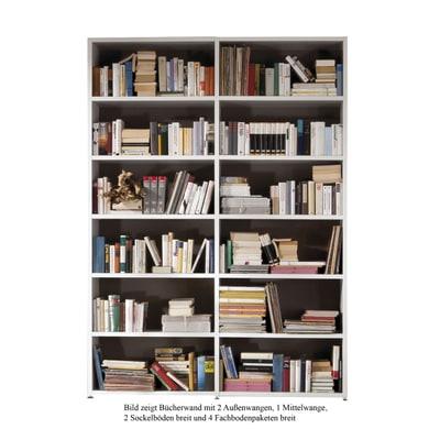 Bücherwand 2.1 Sockelboden schmal
