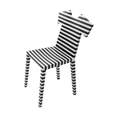 T-Chair Zebra Stuhl