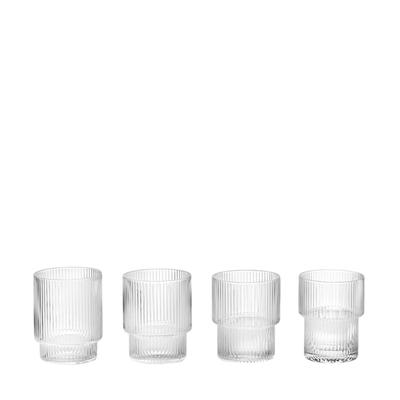 Ripple Trinkglas 4er-Set