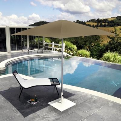 Shade Sonnenschirm quadratisch ohne Schirmständer ohne Accessoires
