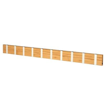 Knax 10 Bambus Garderobenleiste