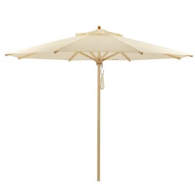 Klassiker Sonnenschirm rund ohne Schirmständer