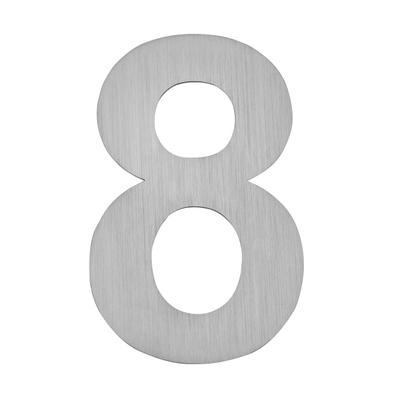 Hausnummer zum Aufkleben 8