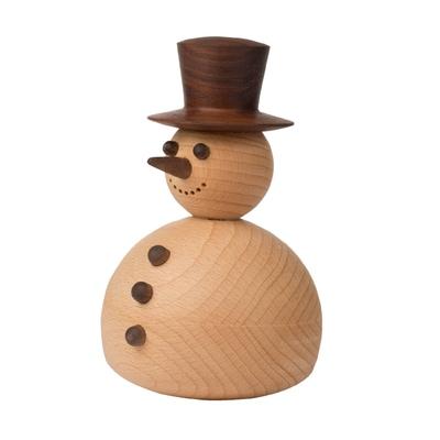 The Snowman Holzfigur