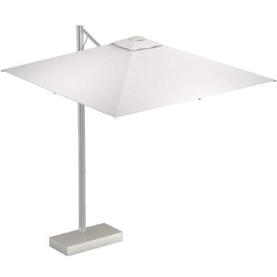 Shade Pro Ampelschirm mit LED Beleuchtung und Schirmständer ohne Beschwerungsplatten