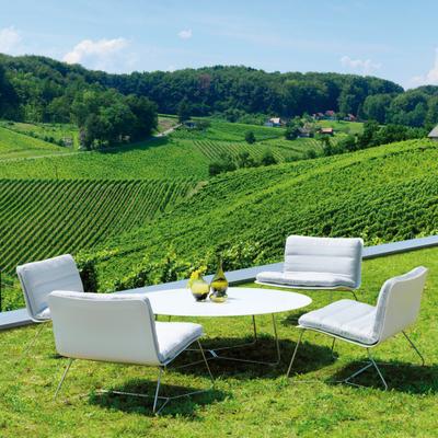 Slim Lounge Sessel Sitzauflage