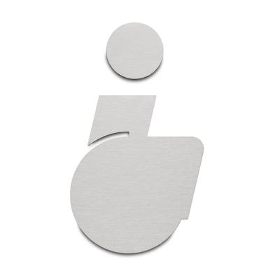 Picto Handicap Türschild