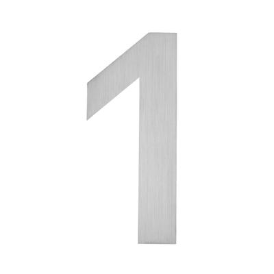 Hausnummer zum Aufkleben 1