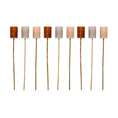 Torch Bamboo Stick Fackel 9er-Set