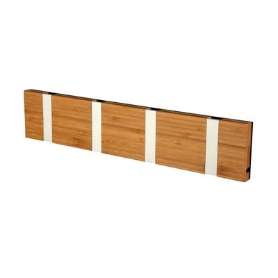 Knax 4 Bambus Garderobenleiste