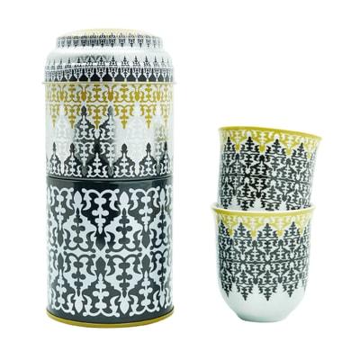 Safra Dose mit 2 Tassen