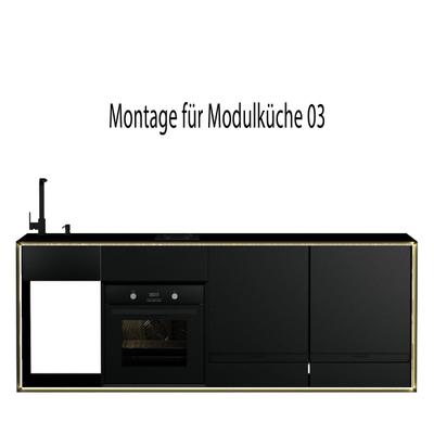 Montageservice für Masterbox Modulküche 03