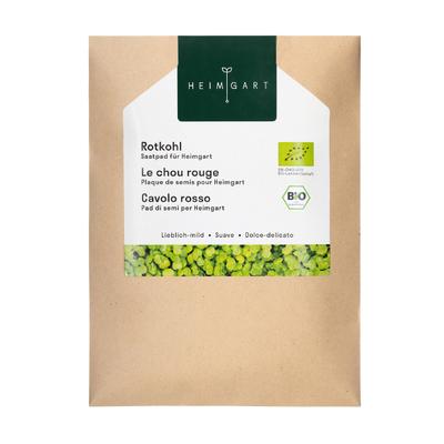Microgreens Samen Rotkohl 3er-Set