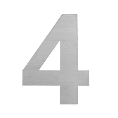 Hausnummer zum Aufkleben 4