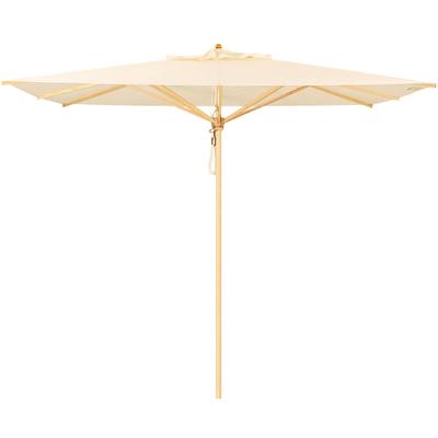Klassiker Sonnenschirm quadratisch ohne Schirmständer