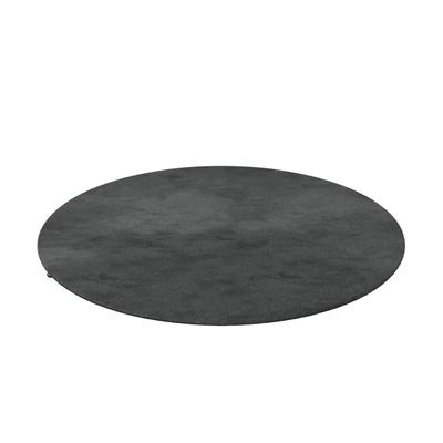 Silky Seal 1200 Teppich rund Kante umgeschlagen