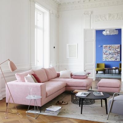 Almere Sofa mit Longchair rechts